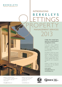Berkeleys New Lettings Service Advert. e-version Jan 13